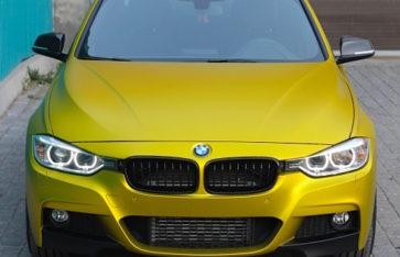 BMW F-30 благородное золото