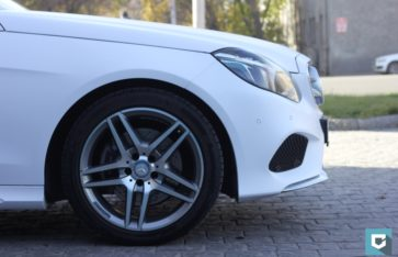 Mercedes-Benz E-classe (w212) «Белоснежный мат»