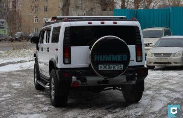 Hummer H2 «Белоснежный глянец»