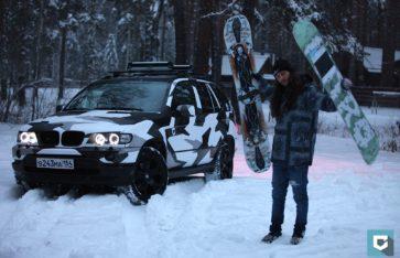 Городской камуфляж BMW X5 4.6i (e53)