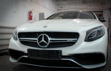 Mercedes-Benz S-Coupe (с217) Защита кузова