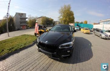 Керамическое покрытие «Polish Angel» BMW X6 (f16)