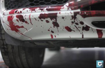 Audi Q5S Винилография «кровь»