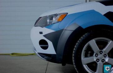 Mitsubishi Outlander XL «Городской камуфляж»