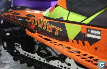 Оклейка снегохода BRP Summit 154