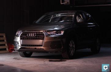 New «Audi Q3» защита фронтальной части