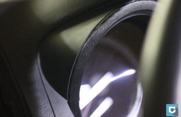 Салон Toyota Prado, шлифованный алюминий.