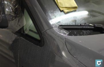Фронтальная защита VW Caddy (new)