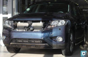 Полная оклейка в полиуретановую пленку Nissan Parthfinder