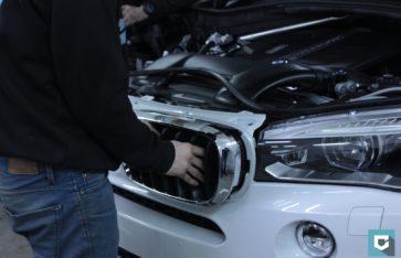 Защита кузова и тонирование стекол BMW X5 (f15)