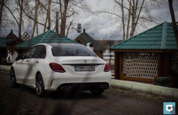 Mercedes-Benz C-Classe «Milk Matt»