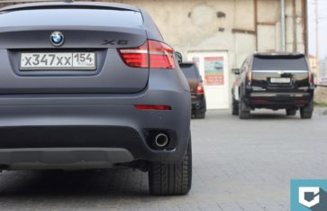 BMW X6 (е71) — Серый графит Arlon.