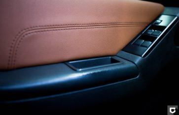Nissan Pathfinder полная оклейка в матовый перламутр + перетяжка салона