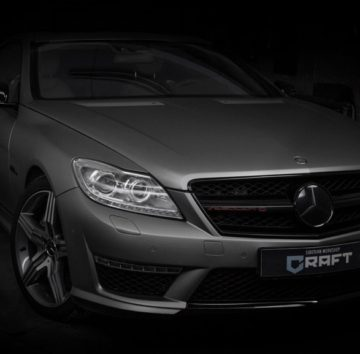 Mercedes CL Stealth