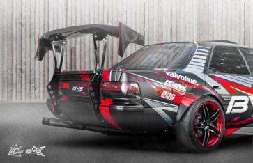 Toyota Chaser BMS Team (Drift car)