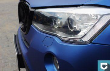 Оклейка BMW X3 (f25) Arlon «Deep Ocean»