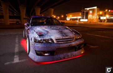 «Toyota Chaser» крутое брендирование для компании «Сибирские пироги»