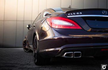Mercedes-Benz CLS доработка выхлопной системы