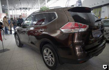 Nissan X-Trail полная оклейка для автосалона NISSAN «Сибирские моторы»