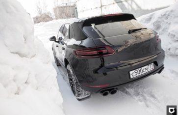 Porsche Macan Нанесение «Ceramic Pro 9H»
