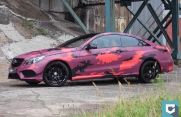 Mercedes-Benz E-Coupe «Urban Cammo»