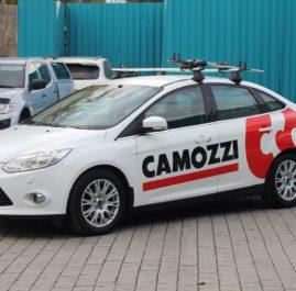 Корпоративное брендирование для компании Camozzi