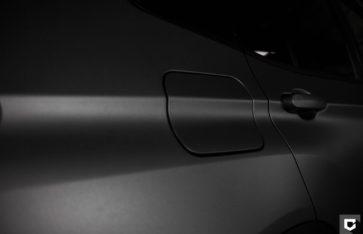 BMW X3 Полная оклейка в серый матовый графит