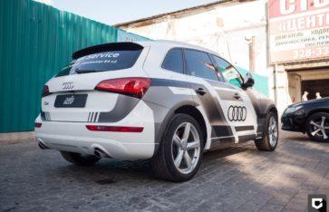 AUDI Q5 брендирование для «Audi Service»
