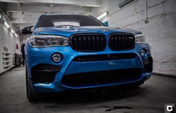 """BMW X5M (F85) Нанесение керамического покрытия """"CERAMIC PRO 9H"""""""