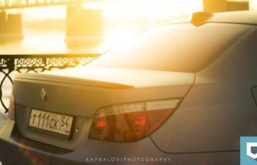 BMW 5-series (E60) «gray-matte metallic»