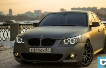 BMW 5-series (E60) «gray-matte metallic»
