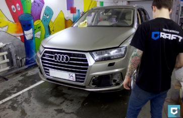 Audi Q7 II «Матовая ламинация»