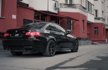 BMW M3 E92 Полировка + Керамическое покрытие Ceramic Pro 9h + Детейлинг интерьера