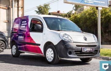 Renault Kangoo «Корпоративное бренидрование»
