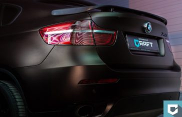 BMW X6 «коричневый матовый металлик»