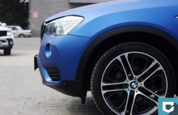 Оклейка BMW X3 (f25) Arlon «Deep Ocean»