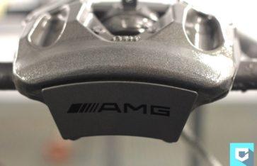 Покраска суппортов в стиле AMG.
