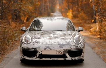 Porsche 911 Turbo S — Pixel Cammo