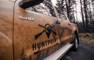 Брендирование для компании HUNTPOINT.RU