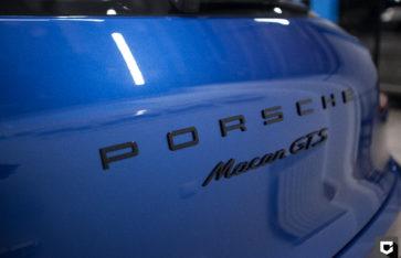 «Porsche Macan GTS» защита кузова полиуретановой пленкой + покраска дисков