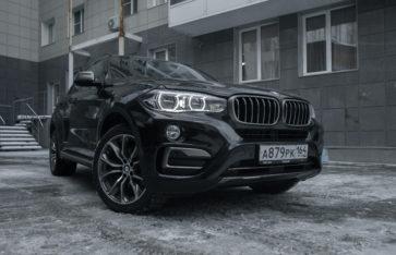 «BMW X6» защита кузова полиуретановой пленкой