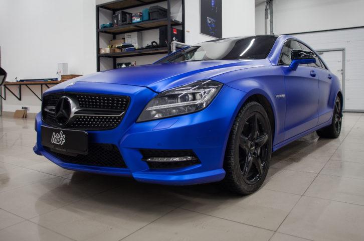 «Mercedes-Benz CLS» частичная оклейка пленкой