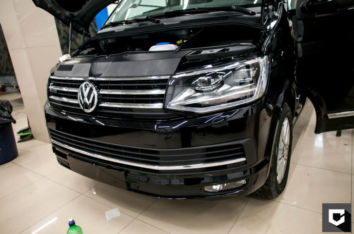 «Volkswagen Multivan» защита кузова полиуретановой пленкой