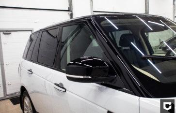 «Range Rover Evoque» защита кузова полиуретановой пленкой
