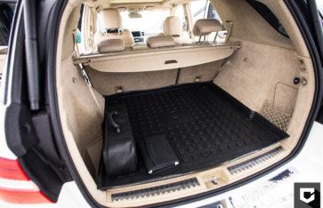 «Mercedes ML» очистка салона  и кожаных элементов