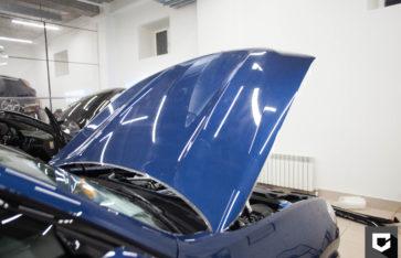 «NEW BMW X3» защита кузова полиуретановой пленкой