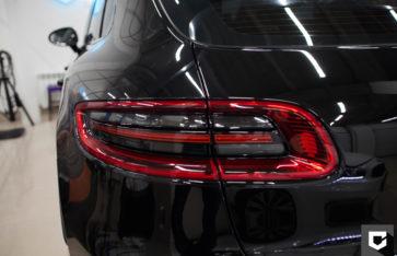 «Porsche Macan» защита кузова полиуретановой пленкой