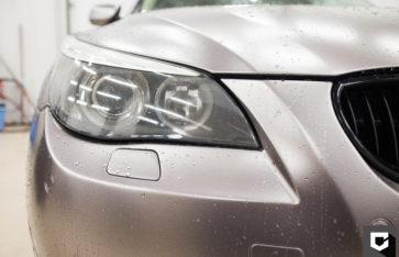 «BMW 5-Series» оклейка кузова пленкой + реставрация салона