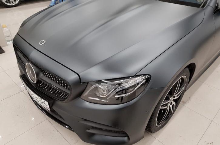 «New Mercedes-Benz E-Coupe» оклейка кузова пленкой