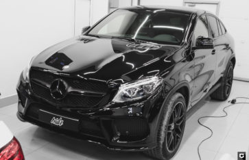 Mercedes-Benz GLE полный Black пакет